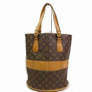 Auth Louis Vuitton Gm Usa Vintage Tote #1485L15